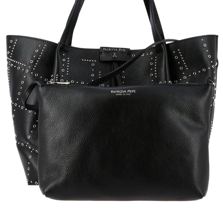 Mini bag women Patrizia Pepe black 4