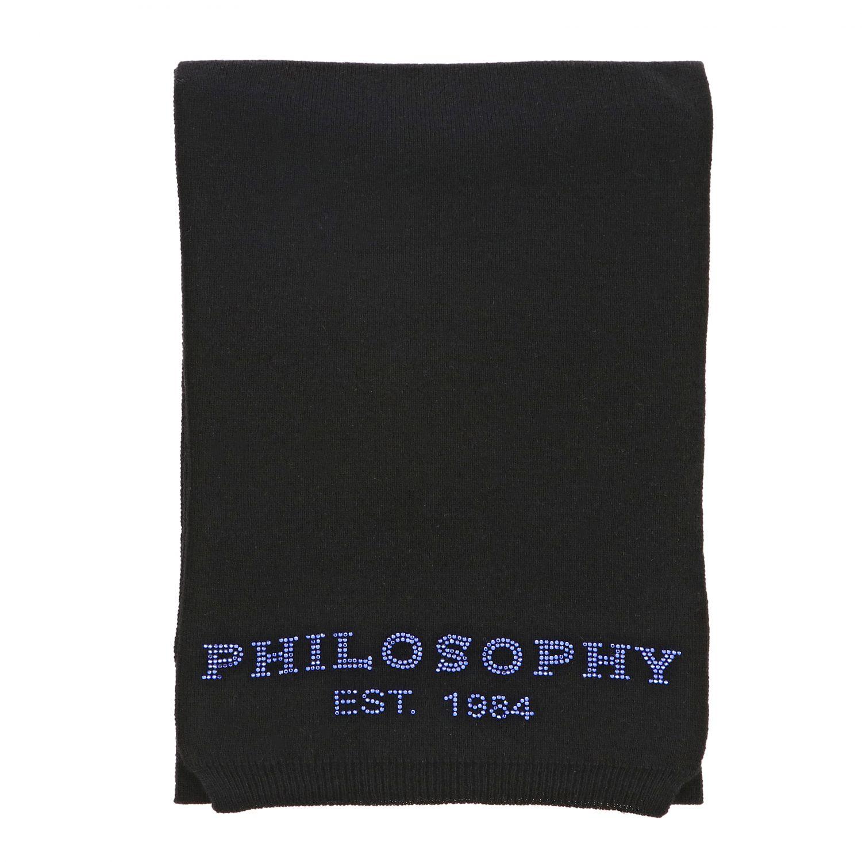 écharpe enfant Philosophy Di Lorenzo Serafini noir 1