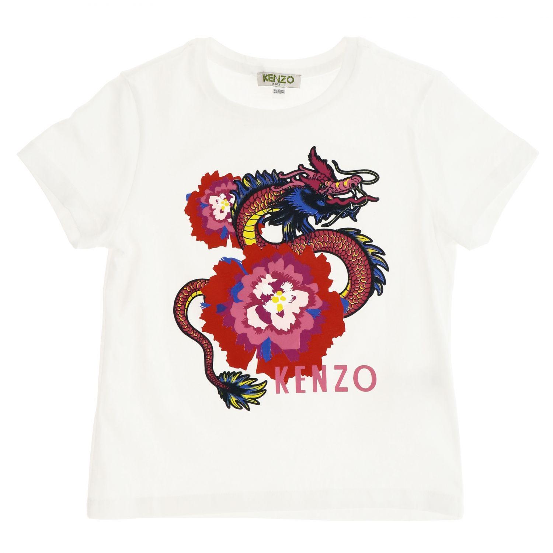 T-shirt Kenzo Junior: Pull enfant Kenzo Junior blanc 1
