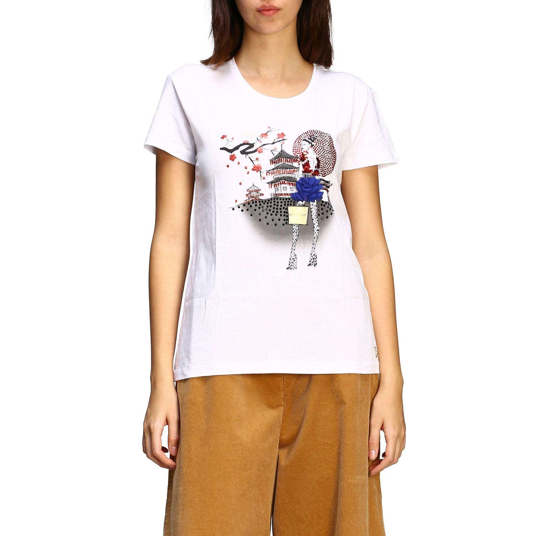 T恤 Patrizia Pepe: 毛衣 女士 Patrizia Pepe 奶油黄 1