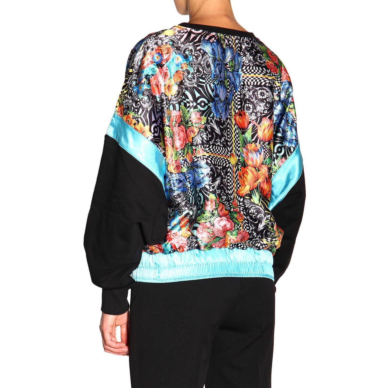Sweatshirt Versace Jeans: Sweatshirt women Versace Jeans black 3