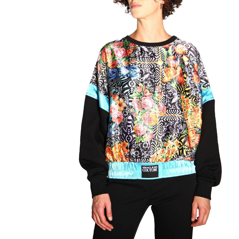 Sweatshirt Versace Jeans: Sweatshirt women Versace Jeans black 5