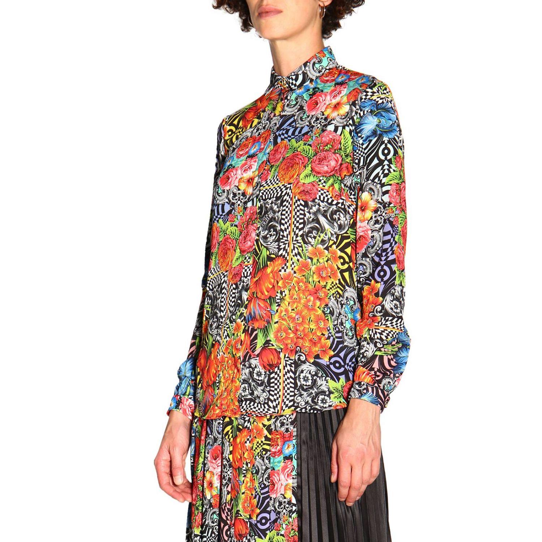Camicia donna Versace Jeans nero 4
