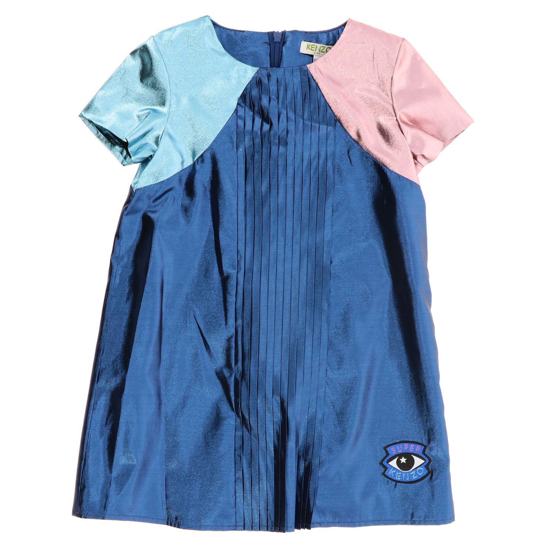 Robe Kenzo Junior: Robe enfant Kenzo Junior bleu 1