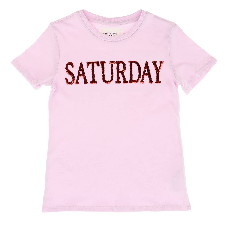 T恤 Alberta Ferretti Junior: 毛衣 儿童 Alberta Ferretti Junior 粉色 1