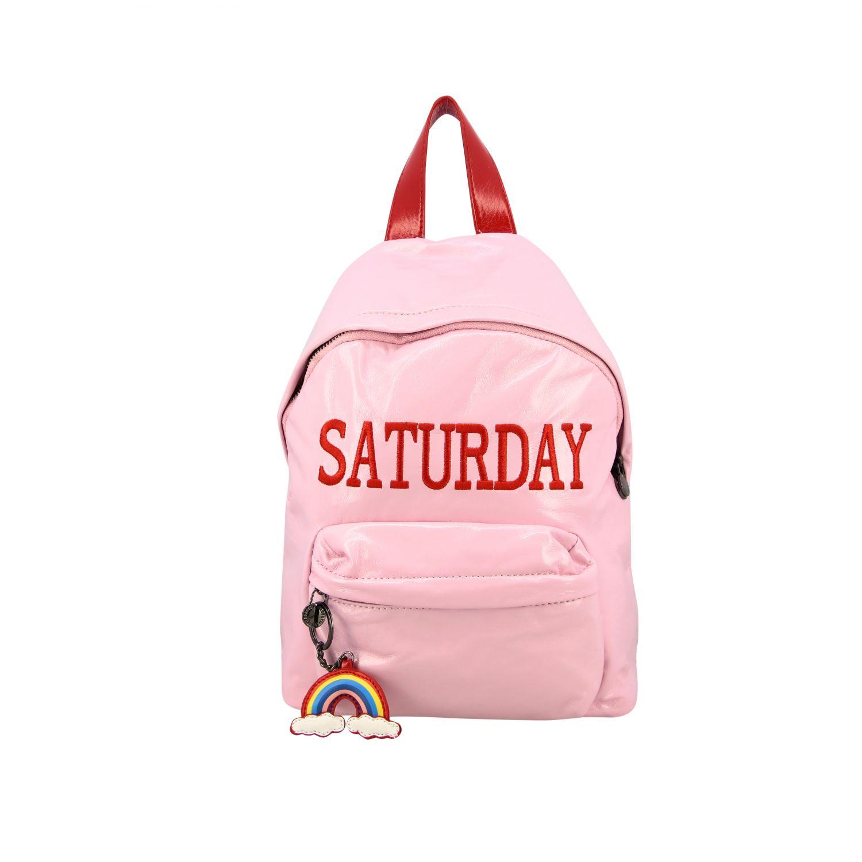 Duffel Bag Alberta Ferretti Junior: Duffel bag kids Alberta Ferretti Junior pink 1