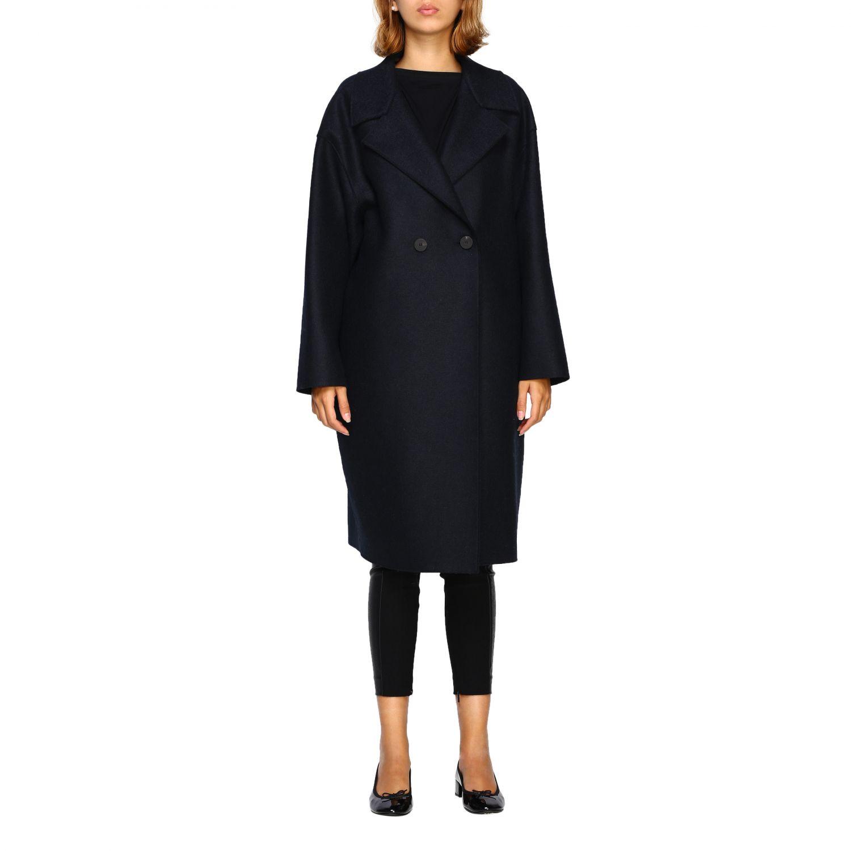 Coat women Harris Wharf London blue 1 1