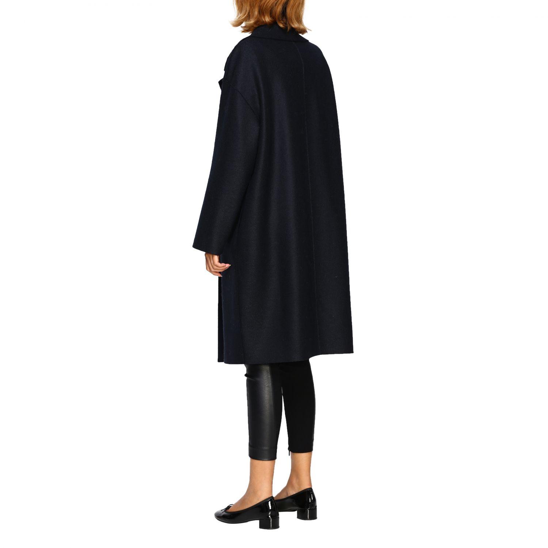 Coat women Harris Wharf London blue 1 3
