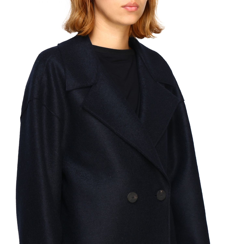 Coat women Harris Wharf London blue 1 5