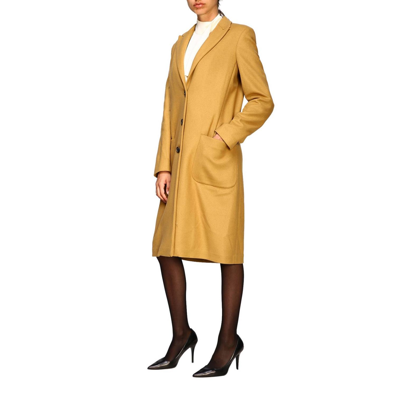 Coat women Dondup camel 4
