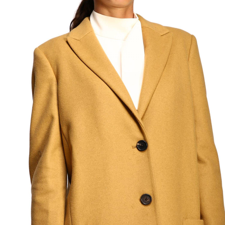 Coat women Dondup camel 5