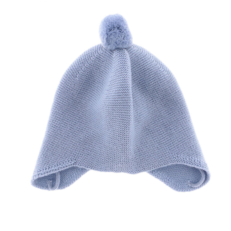 Chapeau enfant Paz Rodriguez bleu azur 1