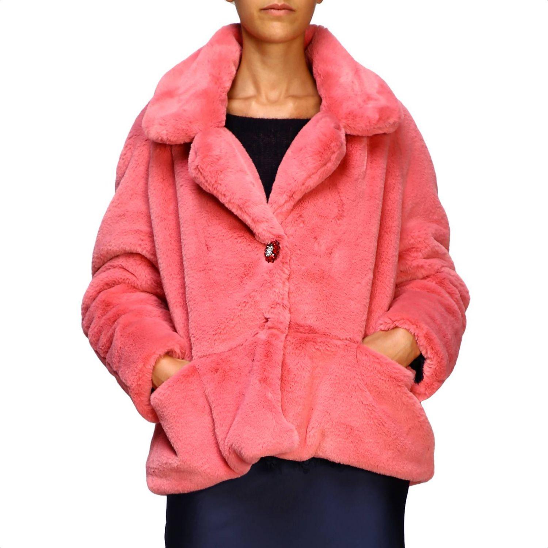 Coat women Pink Memories pink 1