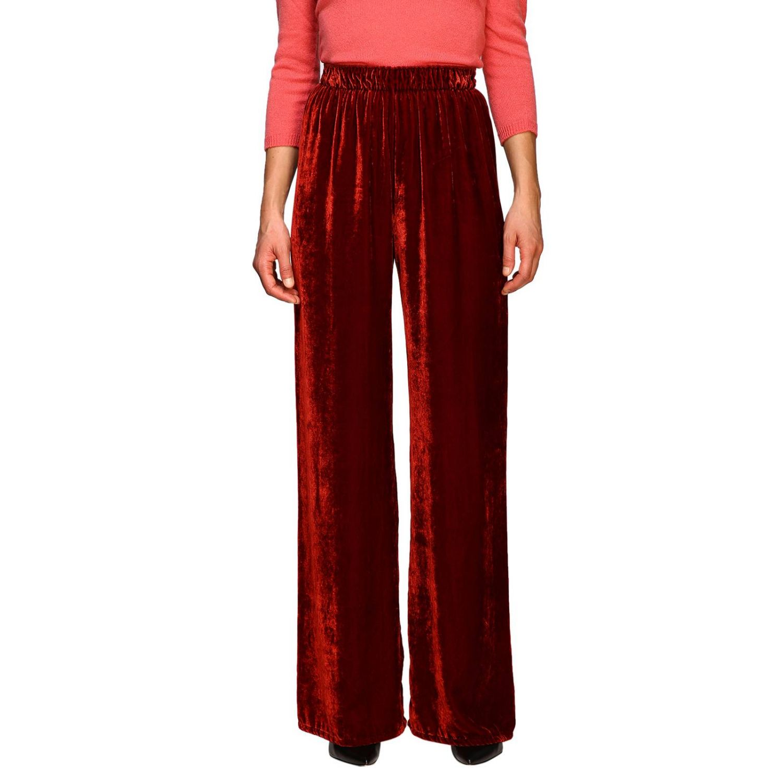 Pantalon femme Pink Memories rouge 1
