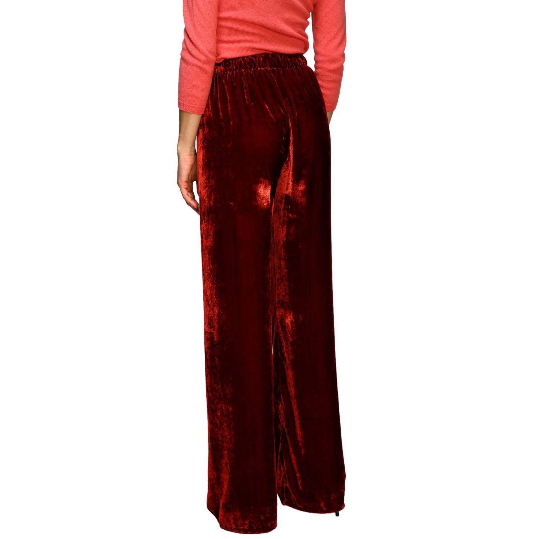 Pantalon femme Pink Memories rouge 3