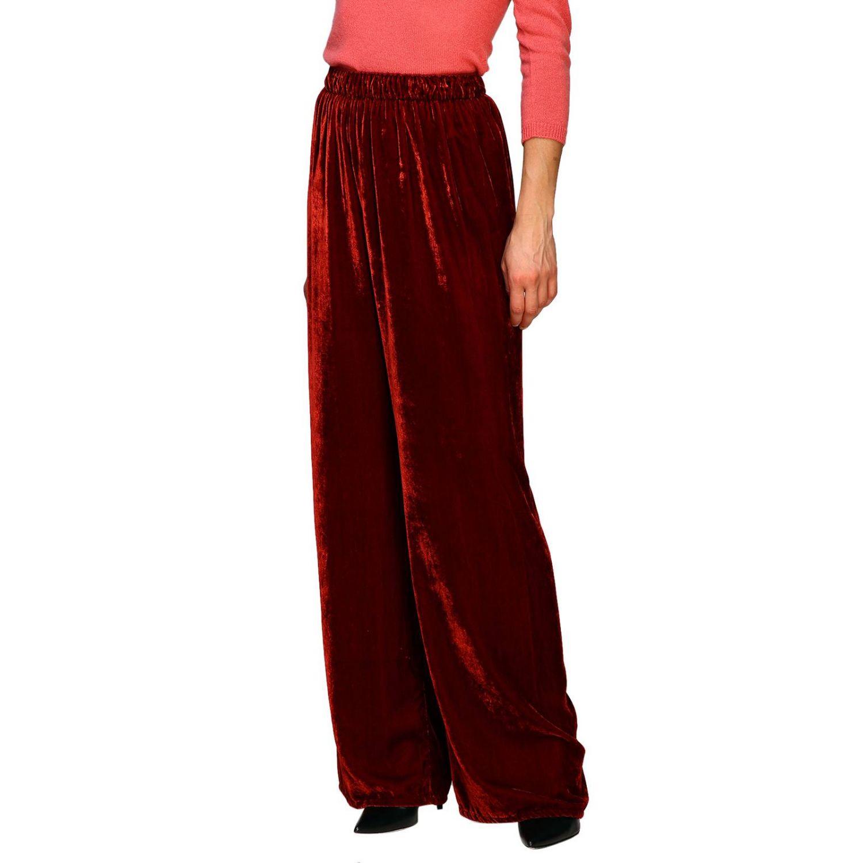 Pantalon femme Pink Memories rouge 4