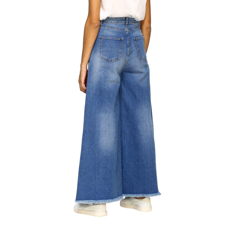 Jeans femme Federica Tosi bleu 2