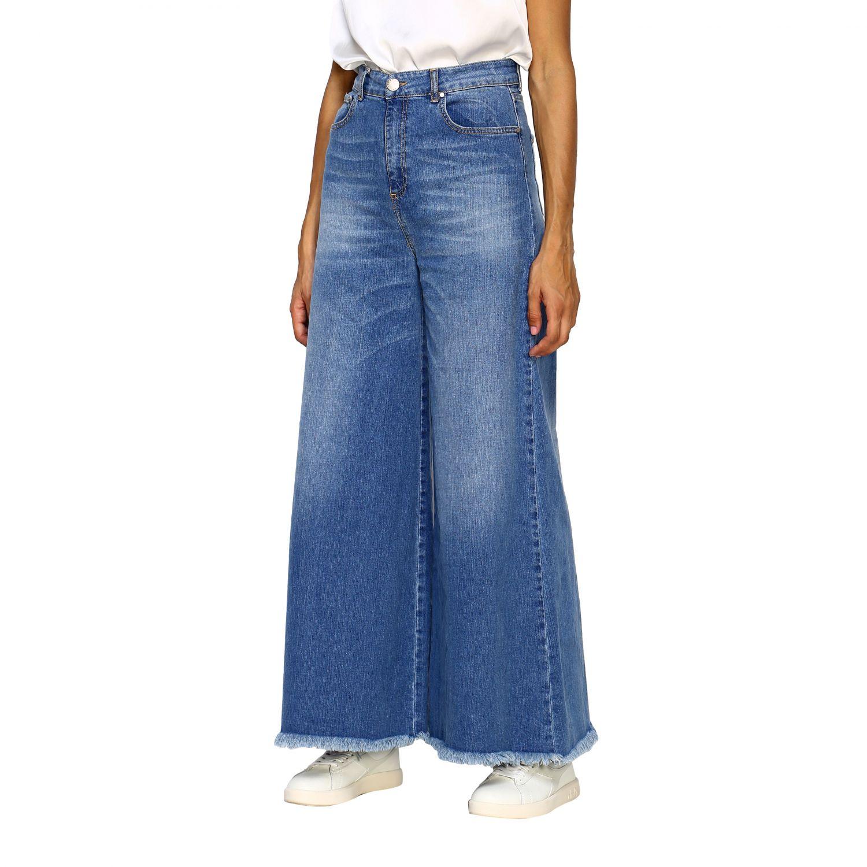 Jeans femme Federica Tosi bleu 3