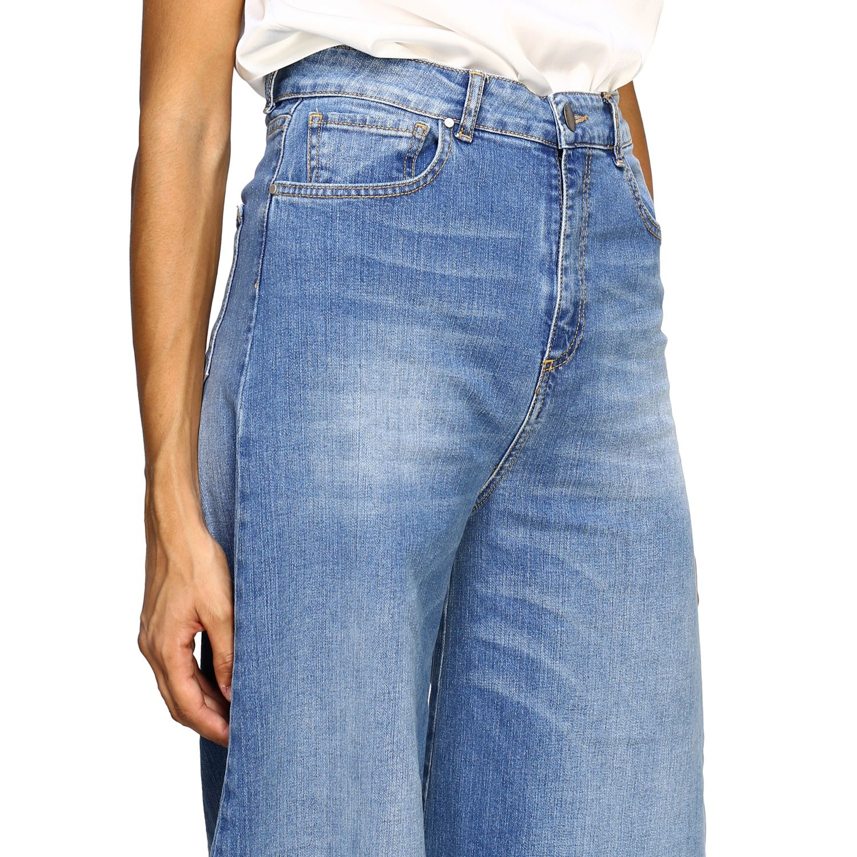 Jeans femme Federica Tosi bleu 4