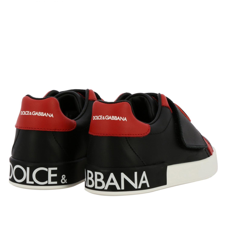 Scarpe Dolce & Gabbana: Scarpe Dolce & Gabbana con maxi logo nero 5