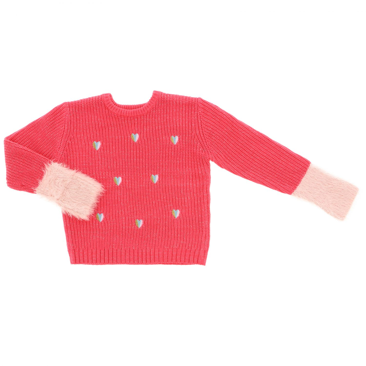 BILLIEBLUSH BABY GIRLS FUCHSIA CARDIGAN