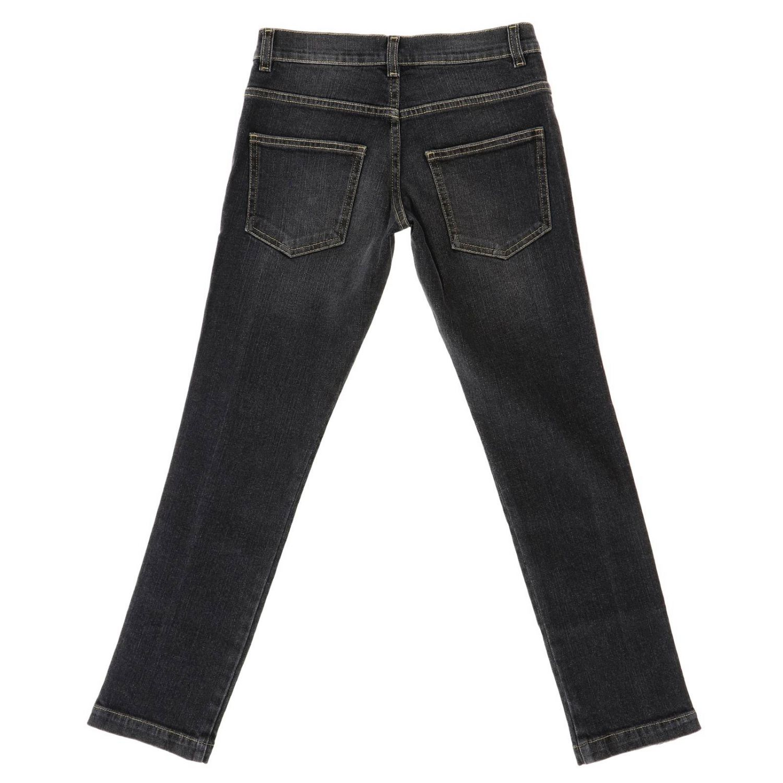 Jeans kids Fendi black 2