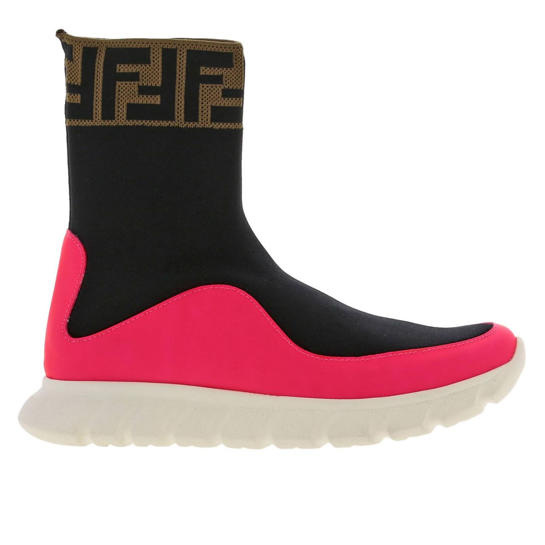 Shoes Fendi: Shoes kids Fendi pink 1