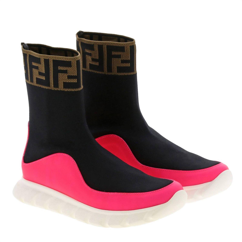 Shoes Fendi: Shoes kids Fendi pink 2