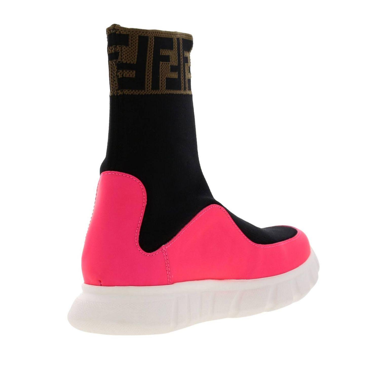 Shoes Fendi: Shoes kids Fendi pink 4