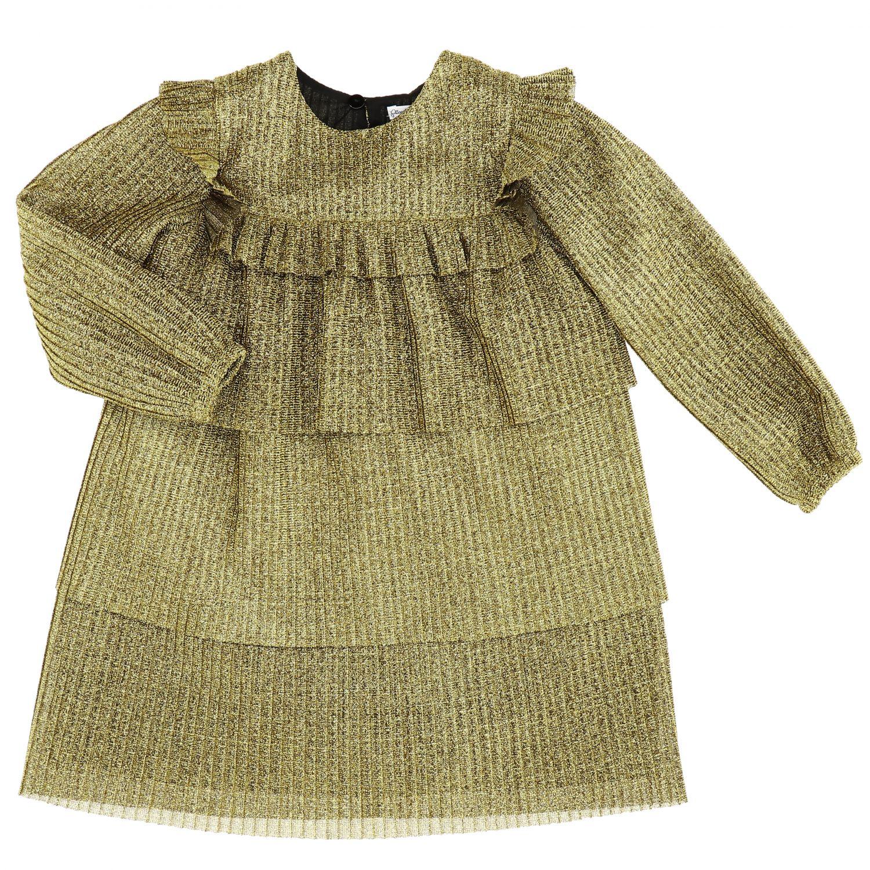 Vestido Piccola Ludo: Vestido niños Piccola Ludo oro 1