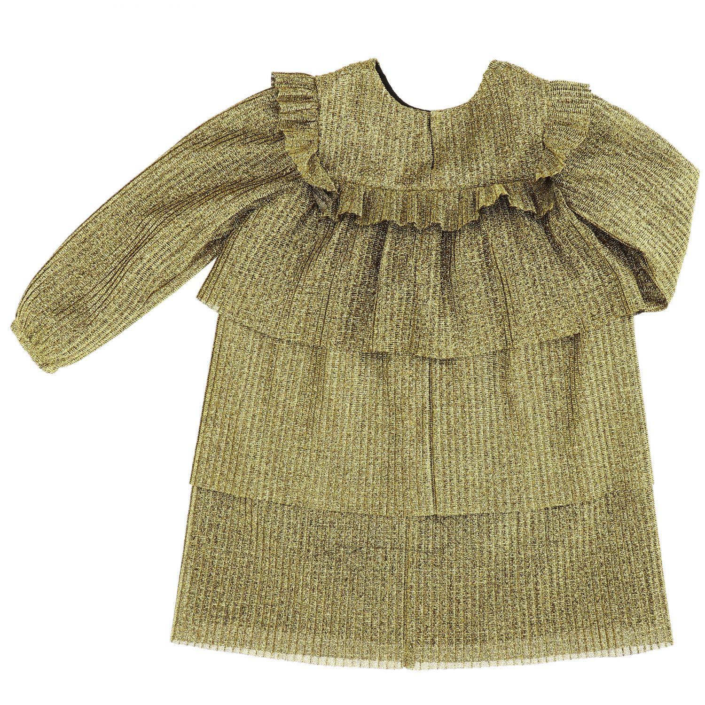 Vestido Piccola Ludo: Vestido niños Piccola Ludo oro 2