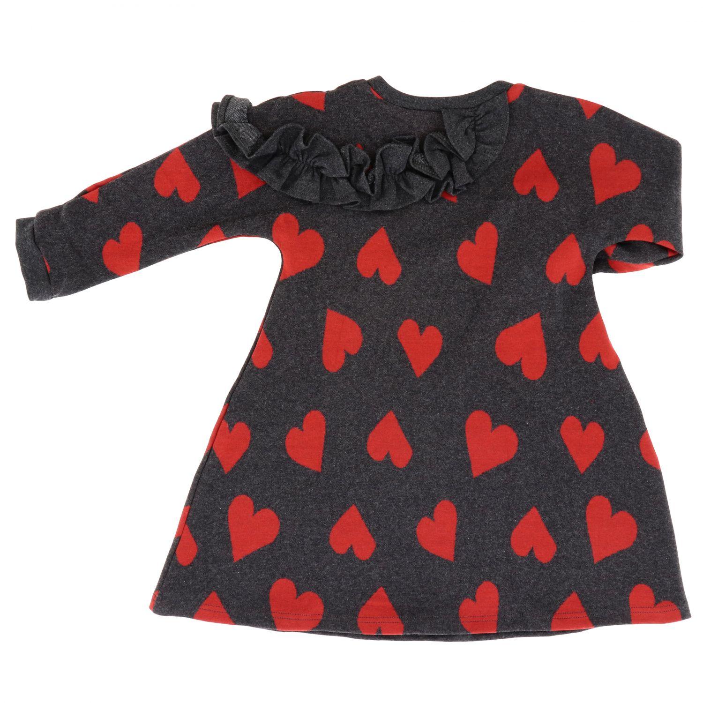 Kleid Piccola Ludo: Kleid kinder Piccola Ludo grau 2