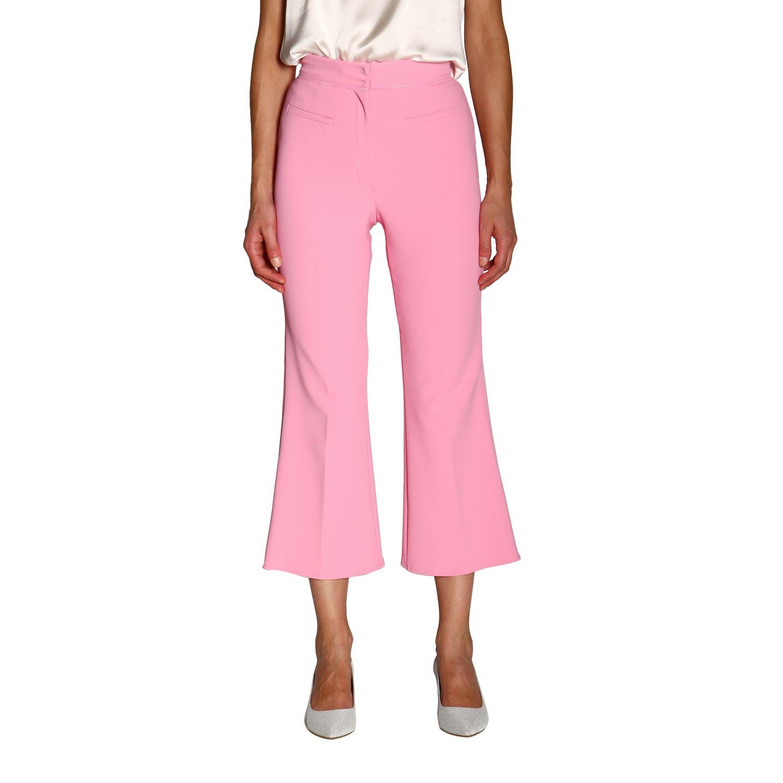 Trousers women Elisabetta Franchi pink 1