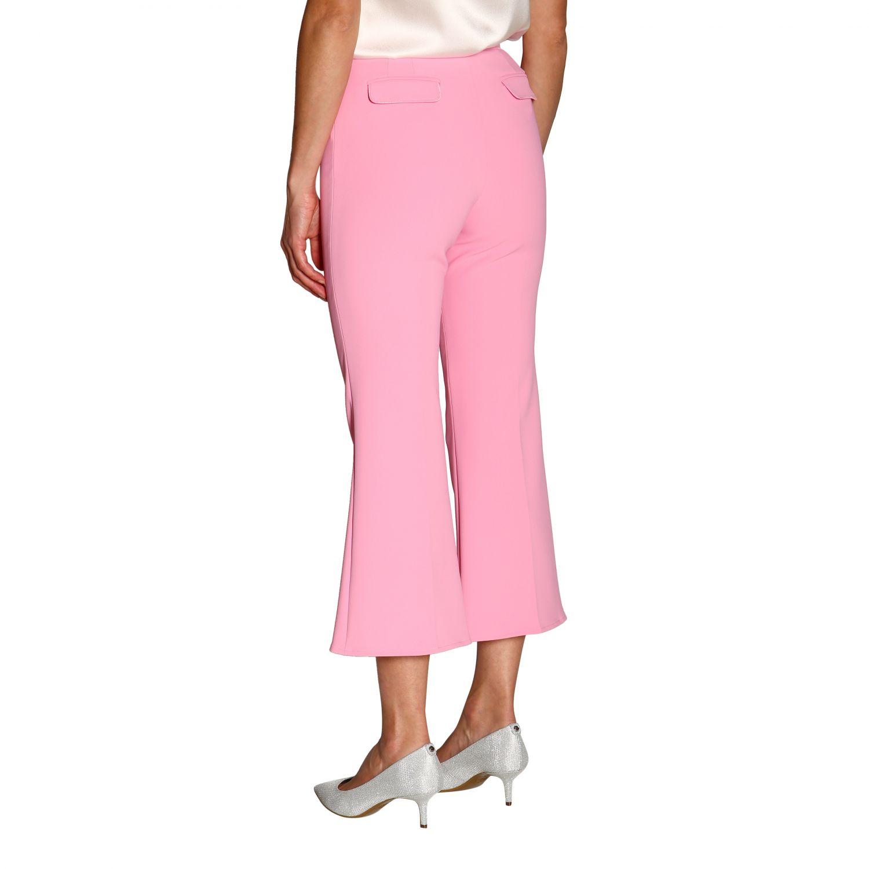Trousers women Elisabetta Franchi pink 3