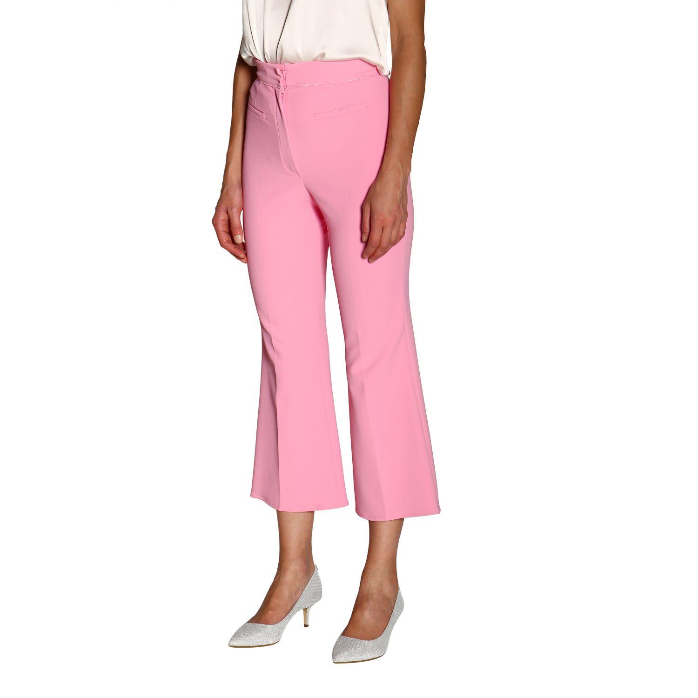 Trousers women Elisabetta Franchi pink 4