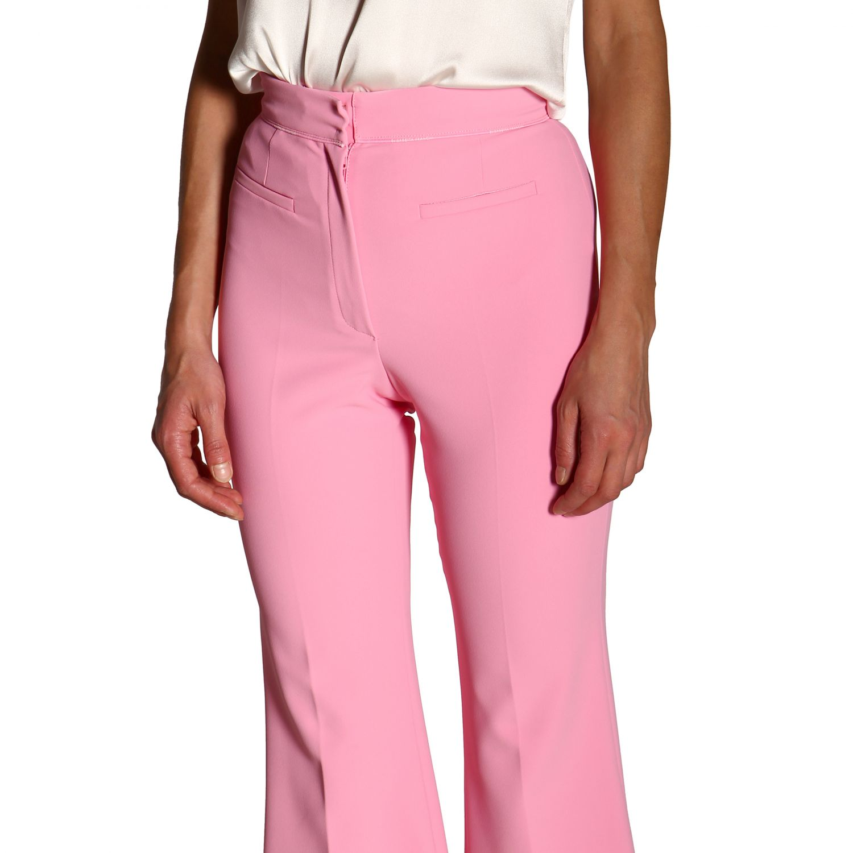 Trousers women Elisabetta Franchi pink 5