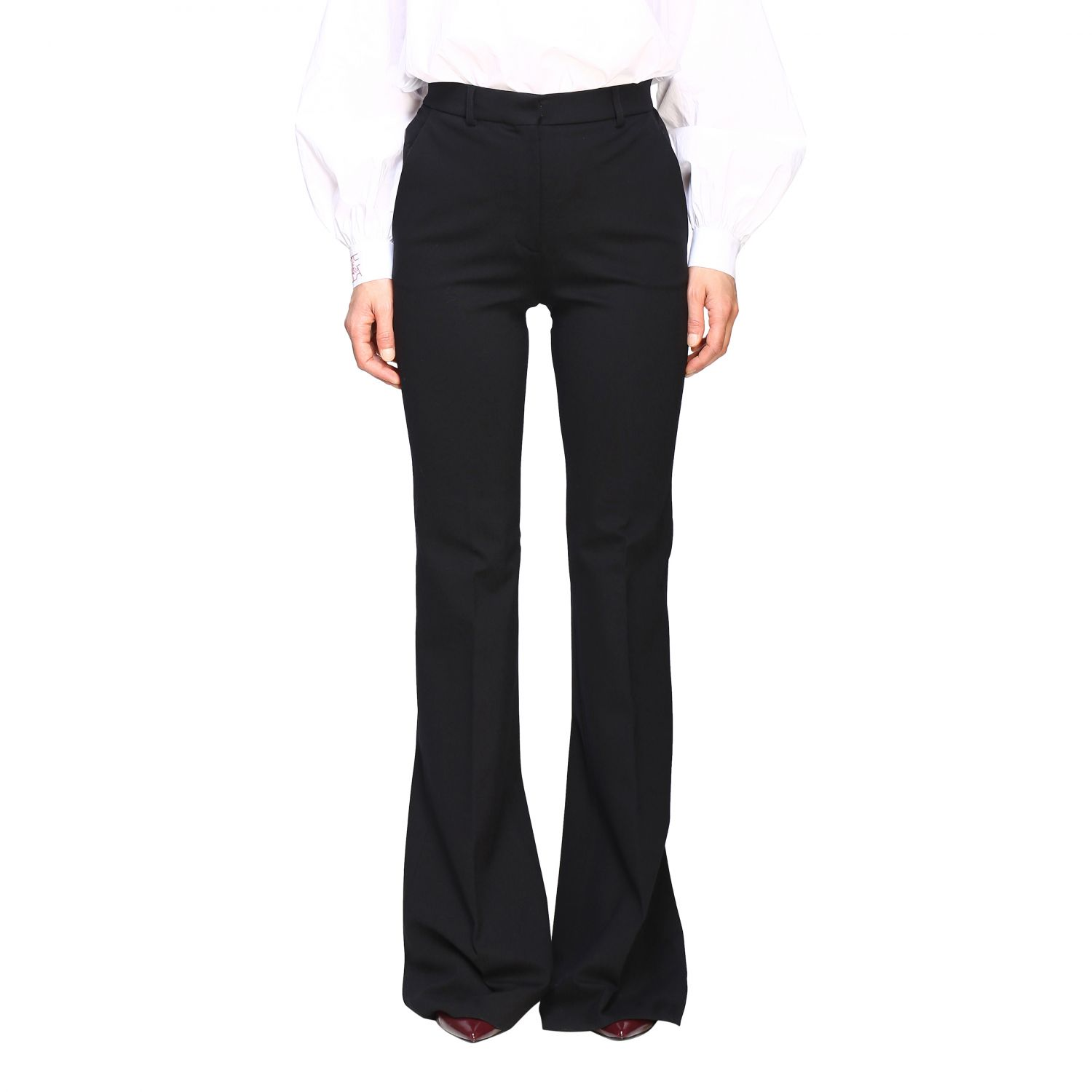 Trousers Alberta Ferretti: Trousers women Alberta Ferretti black 1