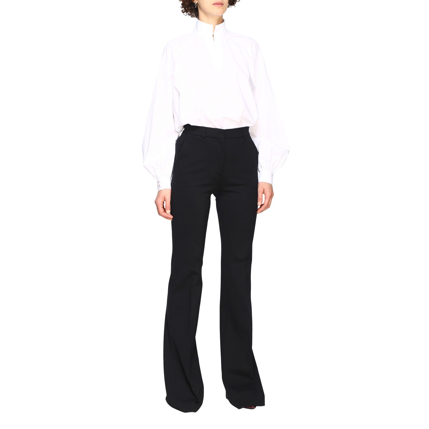 Trousers Alberta Ferretti: Trousers women Alberta Ferretti black 2