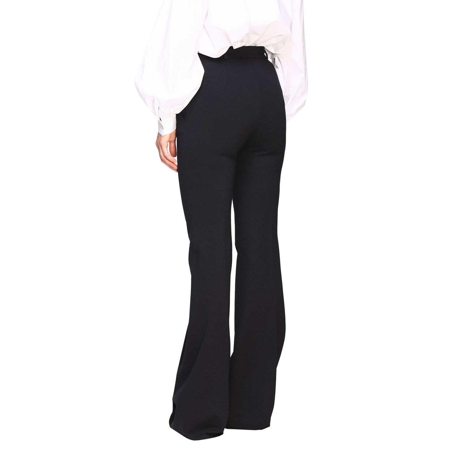 Trousers Alberta Ferretti: Trousers women Alberta Ferretti black 3