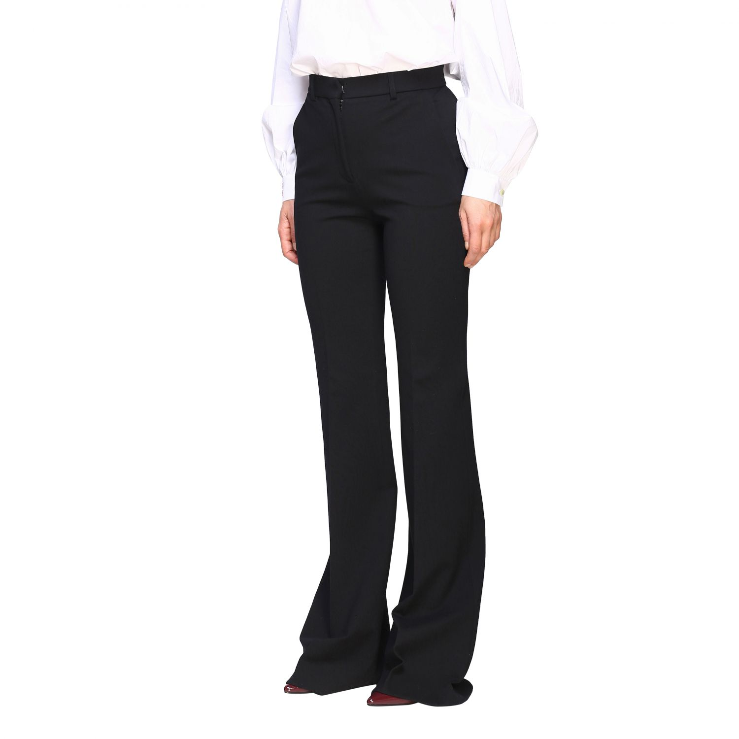 Trousers Alberta Ferretti: Trousers women Alberta Ferretti black 4