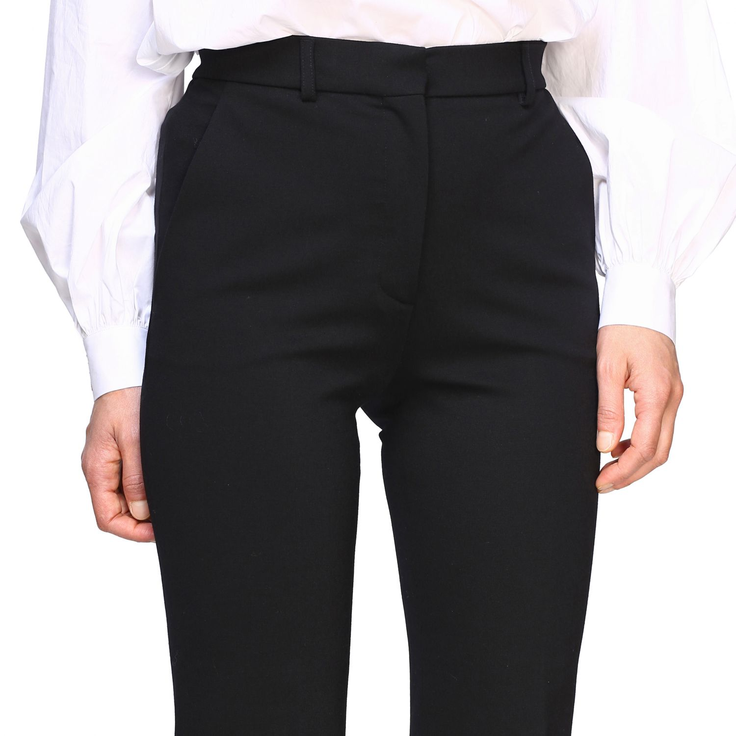 Trousers Alberta Ferretti: Trousers women Alberta Ferretti black 5