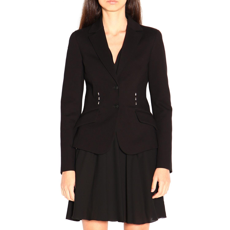 Блейзер Alberta Ferretti: Куртка Женское Alberta Ferretti черный 1
