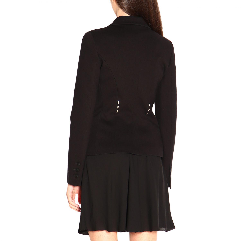 Блейзер Alberta Ferretti: Куртка Женское Alberta Ferretti черный 3
