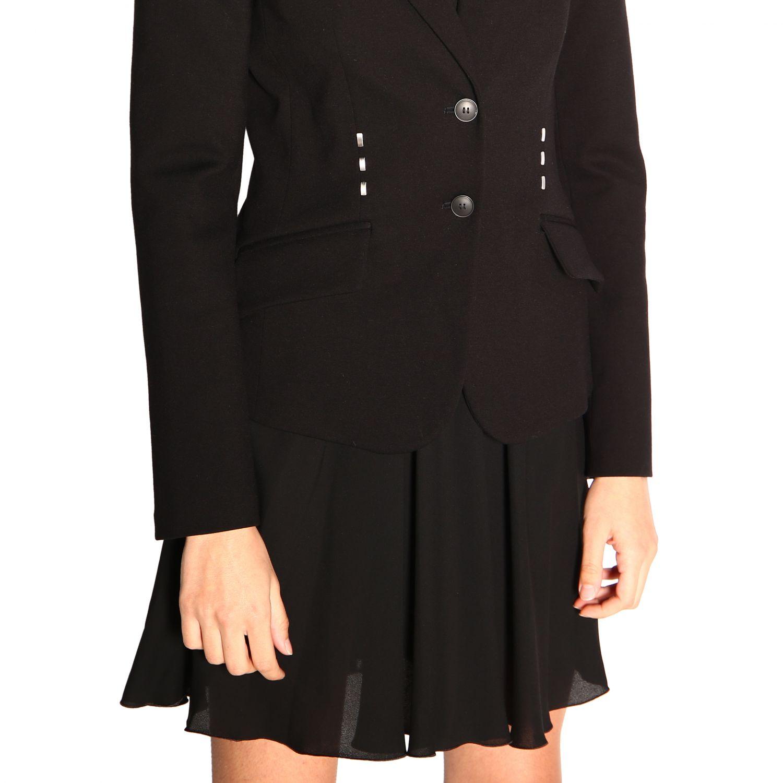 Блейзер Alberta Ferretti: Куртка Женское Alberta Ferretti черный 5