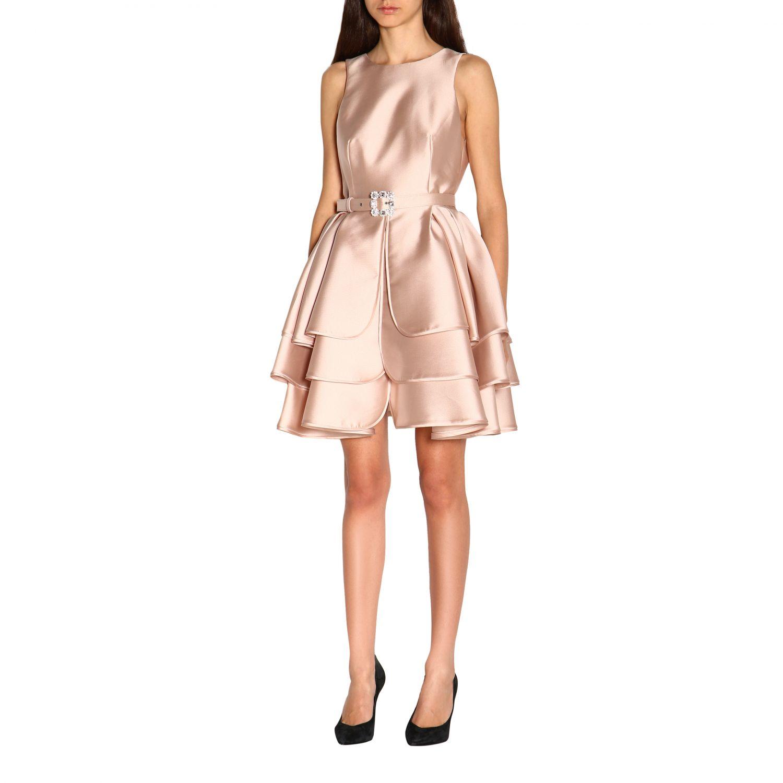 Vestido Alberta Ferretti: Vestido mujer Alberta Ferretti rosa 3