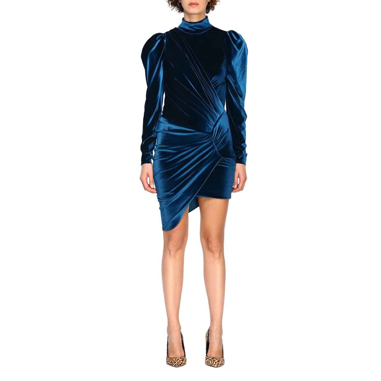 Vestido Alexandre Vauthier: Vestido mujer Alexandre Vauthier azul oscuro 1