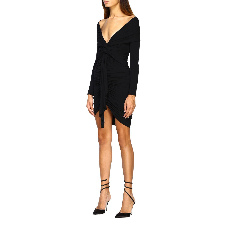 Платье Alexandre Vauthier: Платье Женское Alexandre Vauthier черный 3