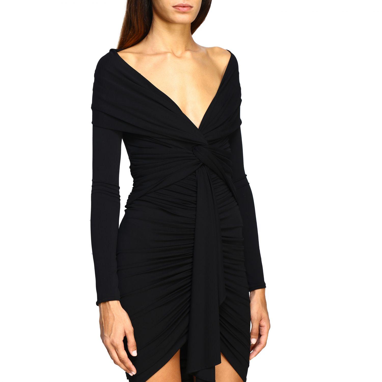 Платье Alexandre Vauthier: Платье Женское Alexandre Vauthier черный 4