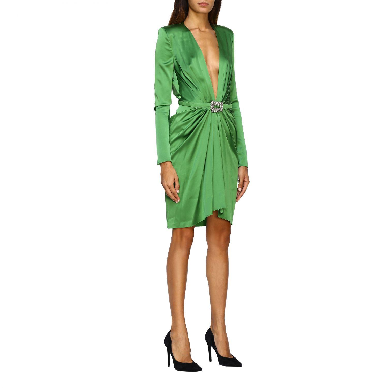 Vestido Alexandre Vauthier: Vestido mujer Alexandre Vauthier verde 1