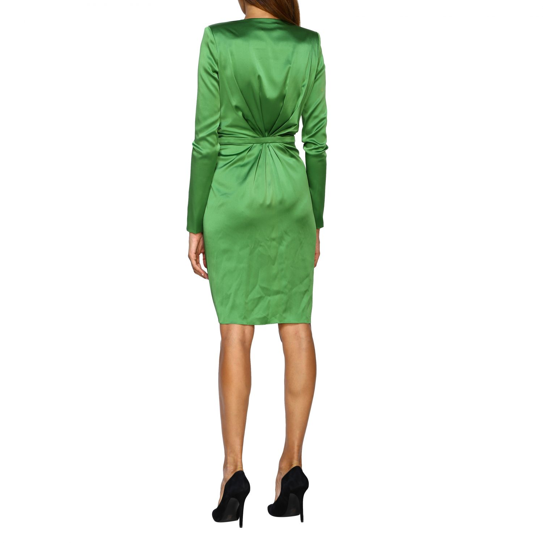 Vestido Alexandre Vauthier: Vestido mujer Alexandre Vauthier verde 2